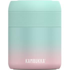 Kambukka Bora Barattolo per alimenti 600ml, turchese/rosa